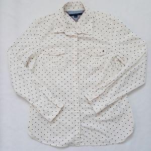 Tommy Hilfiger 100% Cotton Button Down Sz L